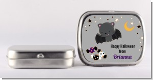 Bat - Personalized Halloween Mint Tins