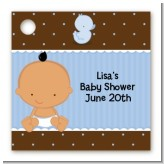 Baby Boy Hispanic - Personalized Baby Shower Card Stock Favor Tags