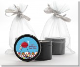 BBQ Grill - Birthday Party Black Candle Tin Favors