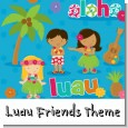 Luau Friends Birthday Party Theme thumbnail