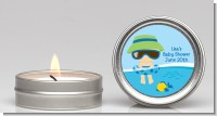 Beach Baby Boy - Baby Shower Candle Favors
