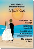 Beach Couple - Bridal Shower Invitations