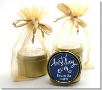 Best Day Ever - Bridal Shower Gold Tin Candle Favors
