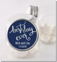 Best Day Ever - Personalized Bridal Shower Candy Jar