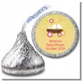 Bird's Nest - Hershey Kiss Baby Shower Sticker Labels thumbnail