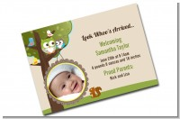 Custom Photo Birth Announcements