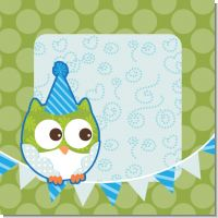 Owl Boy Birthday Party Theme