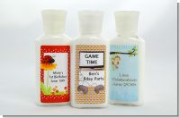 Birthday Party Lotion Favors