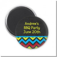 Birthday Boy Chalk Inspired - Personalized Birthday Party Magnet Favors