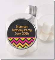 Birthday Girl Chalk Inspired - Personalized Birthday Party Candy Jar