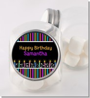 Birthday Wishes - Personalized Birthday Party Candy Jar