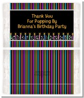 Birthday Wishes - Personalized Popcorn Wrapper Birthday Party Favors