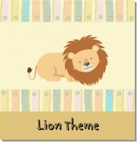 Lion Birthday Party Theme