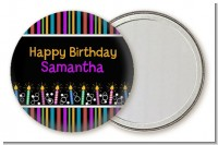 Birthday Wishes - Personalized Birthday Party Pocket Mirror Favors