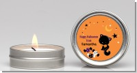 Black Cat - Halloween Candle Favors