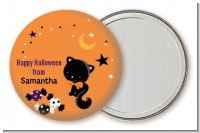 Black Cat - Personalized Halloween Pocket Mirror Favors
