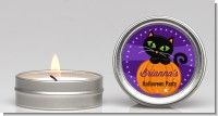 Black Cat Pumpkin - Halloween Candle Favors