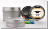 Black - Custom Graduation Party Favor Tins