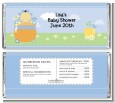 Blooming Baby Boy Asian - Personalized Baby Shower Candy Bar Wrappers thumbnail