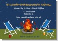 Bonfire - Birthday Party Invitations thumbnail