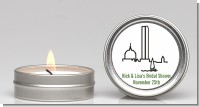 Boston Skyline - Bridal Shower Candle Favors