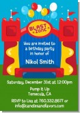 Bounce House - Birthday Party Invitations