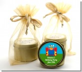 Bounce House - Birthday Party Gold Tin Candle Favors