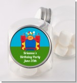 Bounce House - Personalized Birthday Party Candy Jar