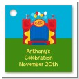 Bounce House - Personalized Birthday Party Card Stock Favor Tags thumbnail