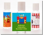 Bounce House - Personalized Birthday Party Hand Sanitizers Favors