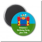Bounce House - Personalized Birthday Party Magnet Favors