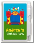 Bounce House - Birthday Party Personalized Notebook Favor