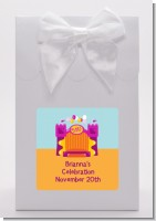 Bounce House Purple and Orange - Birthday Party Goodie Bags