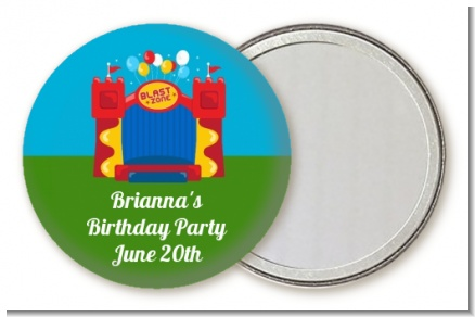 Bounce House - Personalized Birthday Party Pocket Mirror Favors