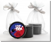 Bowling Boy - Birthday Party Black Candle Tin Favors