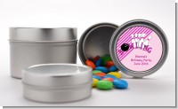 Bowling Girl - Custom Birthday Party Favor Tins