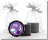 Bowling Party - Birthday Party Black Candle Tin Favors