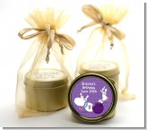 Bowling Party - Birthday Party Gold Tin Candle Favors