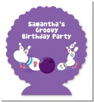 Bowling Party - Personalized Birthday Party Centerpiece Stand