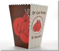 Boxing Gloves - Personalized Birthday Party Popcorn Boxes