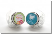 Bridal Shower Candy Jars