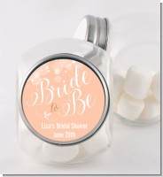 Bride To Be - Personalized Bridal Shower Candy Jar