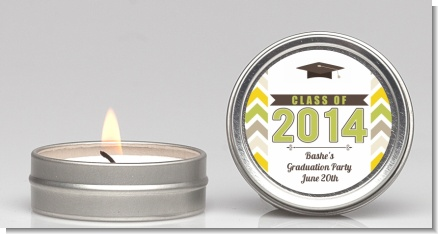 Brilliant Scholar - Graduation Party Candle Favors