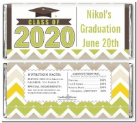 Brilliant Scholar - Personalized Graduation Party Candy Bar Wrappers