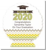 Brilliant Scholar - Personalized Graduation Party Centerpiece Stand