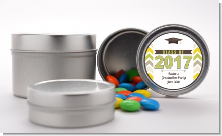 Brilliant Scholar - Custom Graduation Party Favor Tins