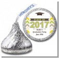 Brilliant Scholar - Hershey Kiss Graduation Party Sticker Labels thumbnail