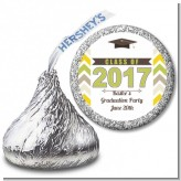 Brilliant Scholar - Hershey Kiss Graduation Party Sticker Labels