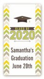 Brilliant Scholar - Custom Rectangle Graduation Party Sticker/Labels
