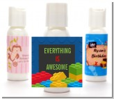 Building Blocks - Personalized Birthday Party Lotion Favors